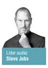 Steve Jobs lider audaz