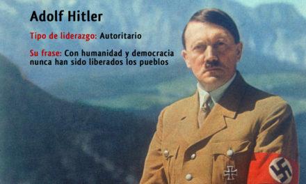 Tipo de liderazgo de  Adolf Hitler: Líder dictador