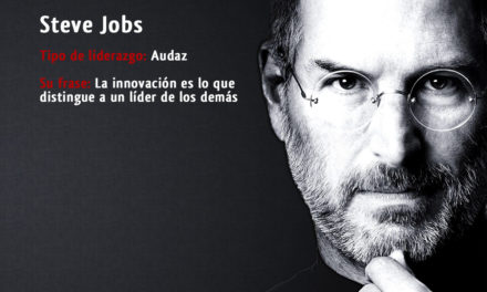 Tipo de liderazgo de Steve Jobs: líder Audaz